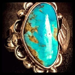 SOLD  Navajo Sterling and turquoise ring💕🦋